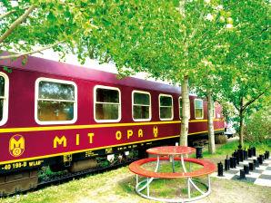 Ferienwohnung Mitropaschlafwagen im Eisenbahnwaggon