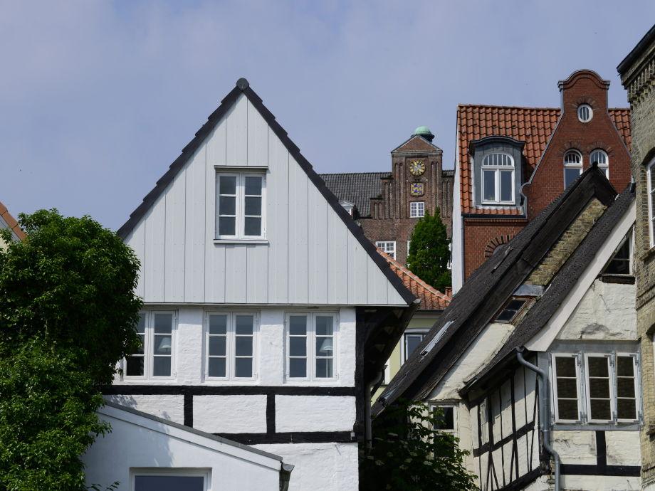 Feriewohnung 'Hafenblick' im 'Historischen Kapitänshaus