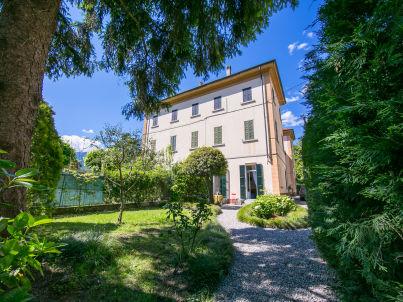 in der Villa Anna Giardino - 1866