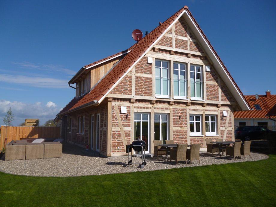 Das Wellness-Landhaus mit Whirlpool, Terrassen, Garten