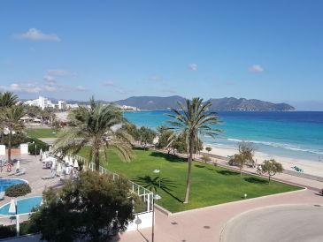 Ferienwohnung mit Meerblick am Strand