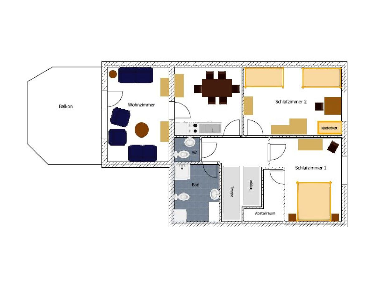 ferienwohnung haus wei e m we borkum herr matthias hopp. Black Bedroom Furniture Sets. Home Design Ideas