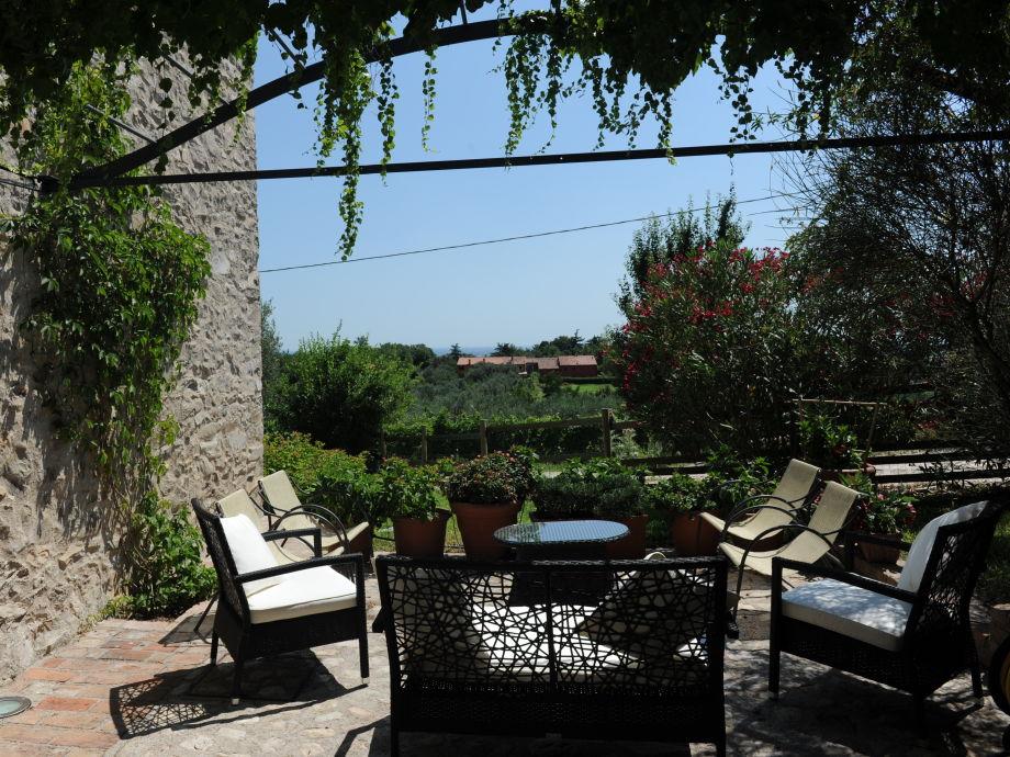 Romantische Terrasse