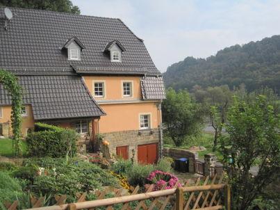 Ferienzimmer Haus an der Elbe