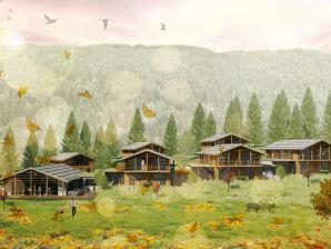 Ferienwohnung Südtirol Chalet Valsegg