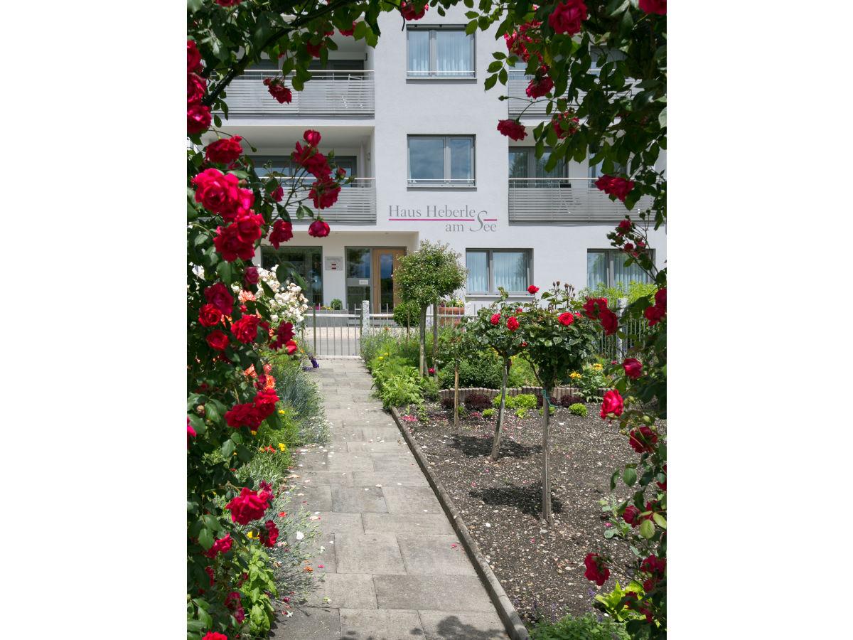Ferienwohnung Haus Heberle am See Bodensee Frau Melanie