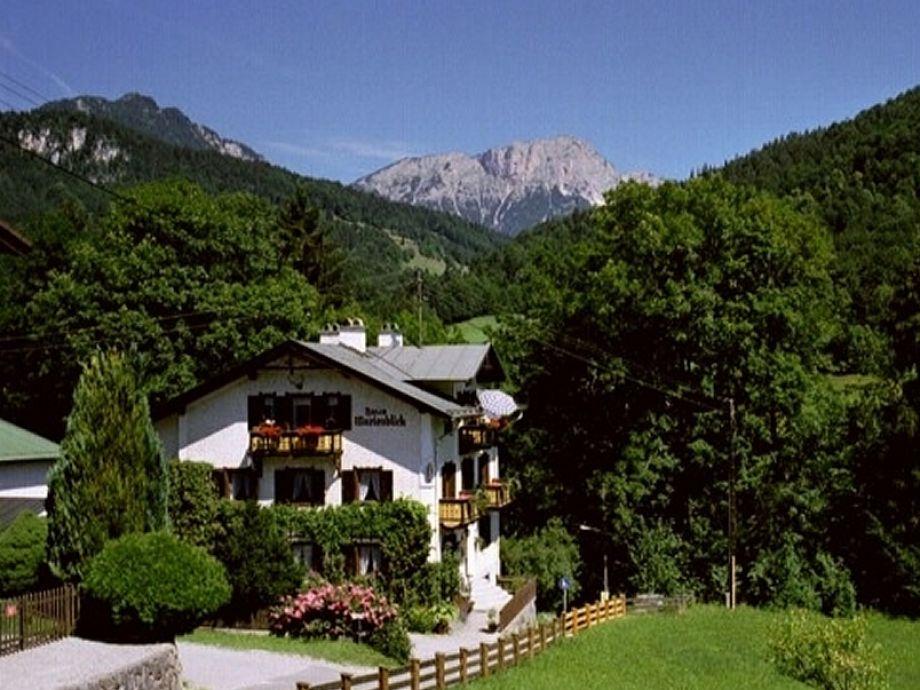 Haus Marienblick mit Untersberg