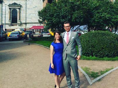 Your host Stephan Damen und Frau Kim van Zutphen