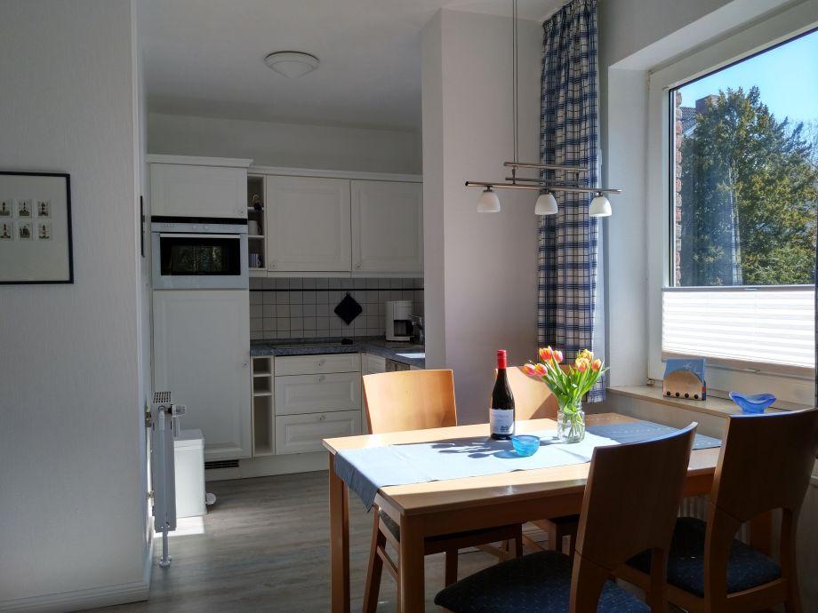 ferienwohnung wohnen am südstrand, nordsee - familie frenzel - Friesische Küche