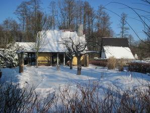 Romantisches Ferienhaus am Wasser Burg Spreewald