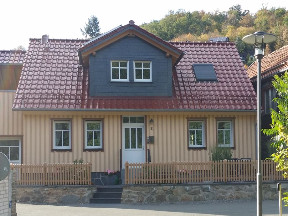 Außenaufnahme Haus Bodefurt