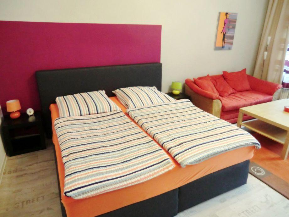 Doppelbett / Schlafsofa