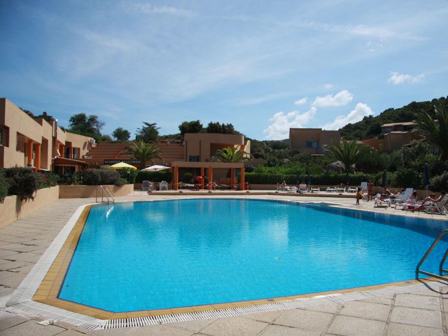 Außenaufnahme Residence Paradiso - One bedroom apartment with pool
