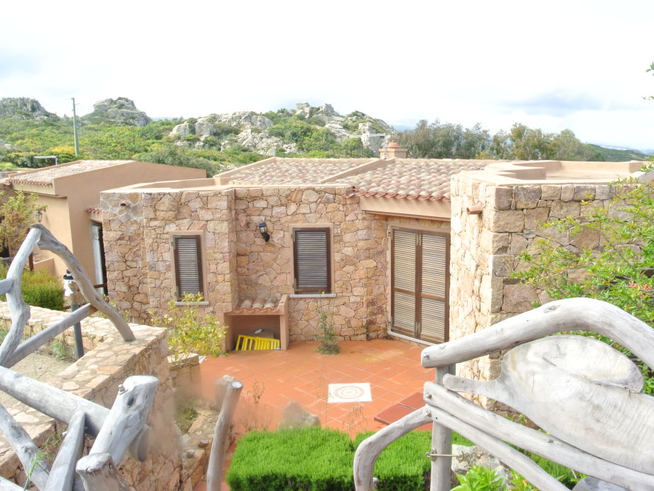Außenaufnahme Villa Satta