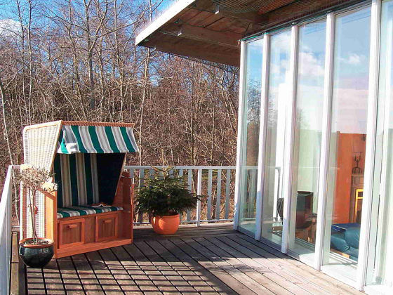 ferienwohnung penthuus ostsee schlei schleswig holstein frau barbara m ller. Black Bedroom Furniture Sets. Home Design Ideas
