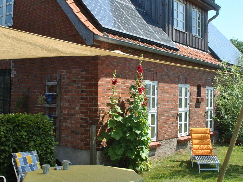 Ferienwohnung Andersson - direkter Zugang zum Garten