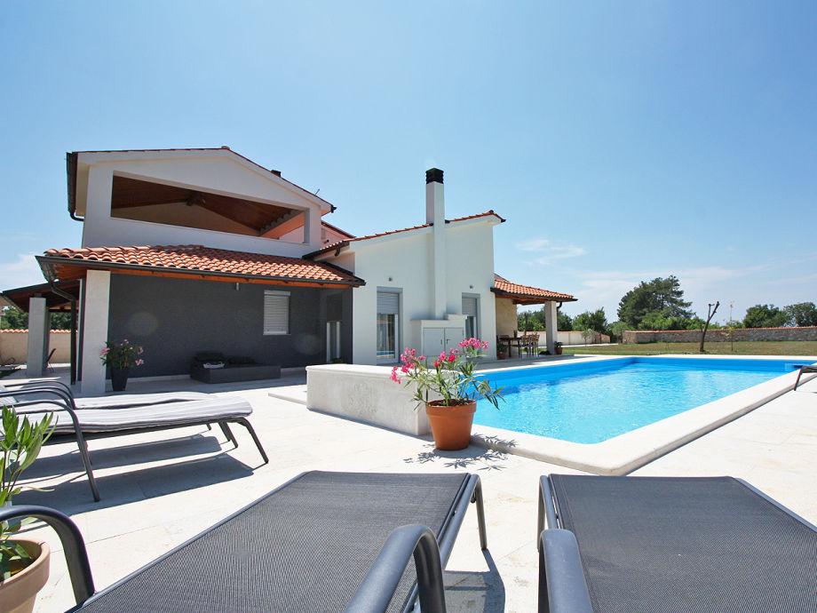 Das Haus mit privatem Pool