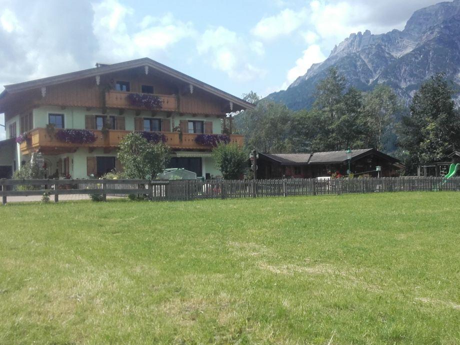 Ferienhaus Scheiber Außenbild Sommer
