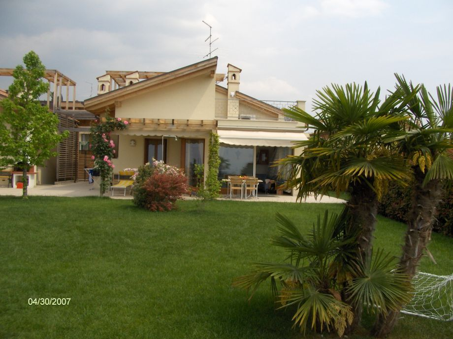 Villa Olivo in summer