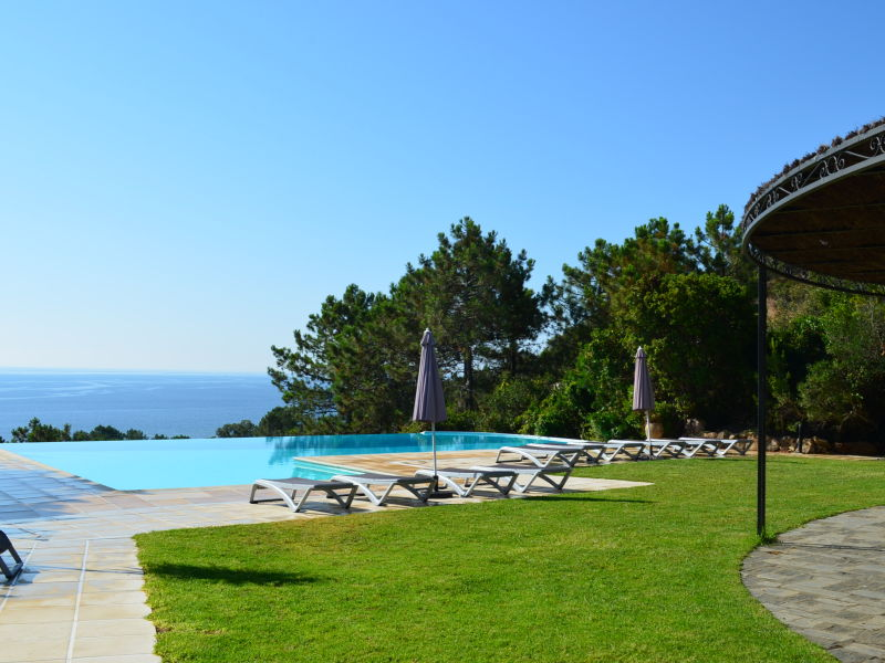 Holiday house with pool, beach at 900 m