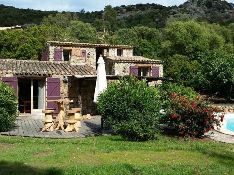 Außenaufnahme Charming villa close to Palombaggia beach