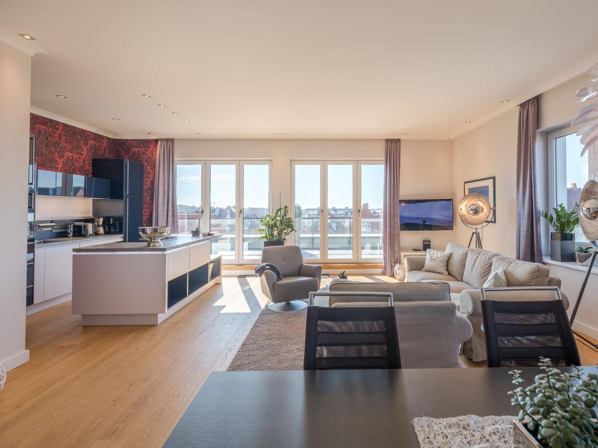 Ferienwohnung Penthouse Horizont Husum Firma Ferien An Der Nordsee