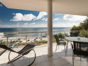 Ferienwohnung Ariane - mit atemberaubendem Hafen-Ostsee-Blick