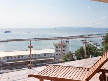 Ferienwohnung Meeresidyll - mit atemberaubendem Hafen-Ostseeblick