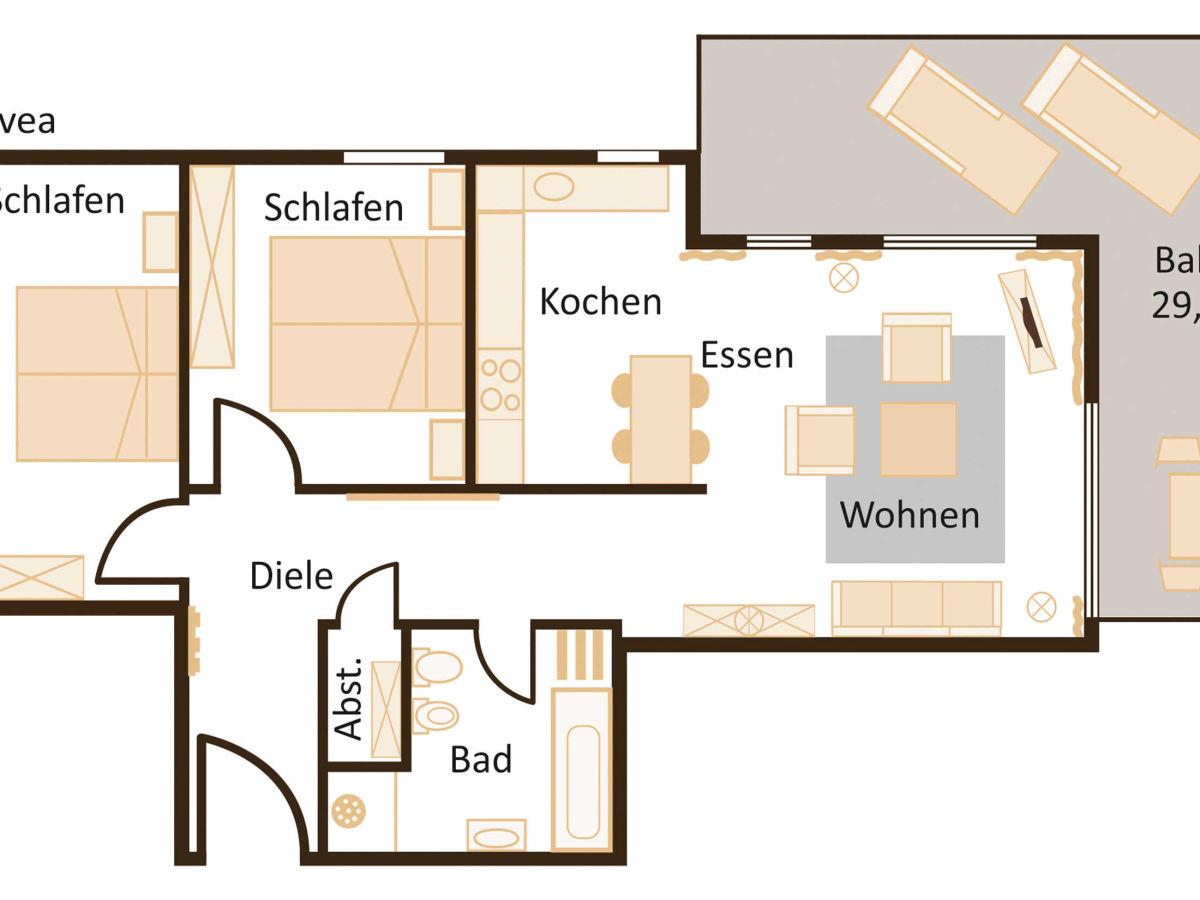 ferienwohnung svea mit atemberaubendem hafen ostsee blick ostsee r ge firma tourist. Black Bedroom Furniture Sets. Home Design Ideas