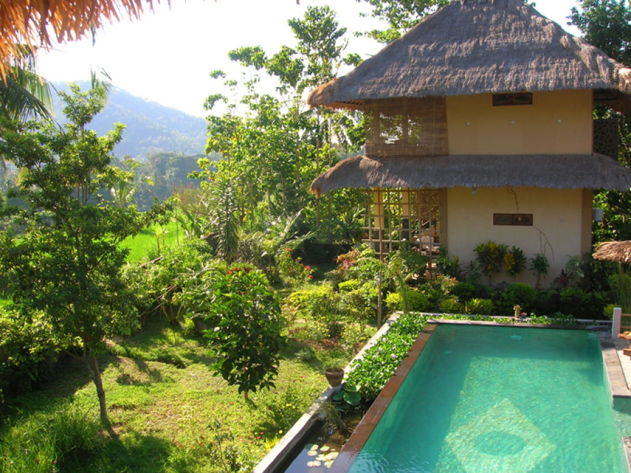 Villa Batu - the stone house and spring water pool