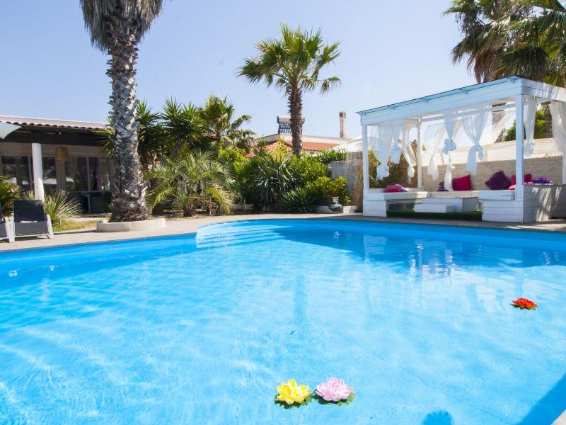 Ferienhaus Villa Cotriero Pool