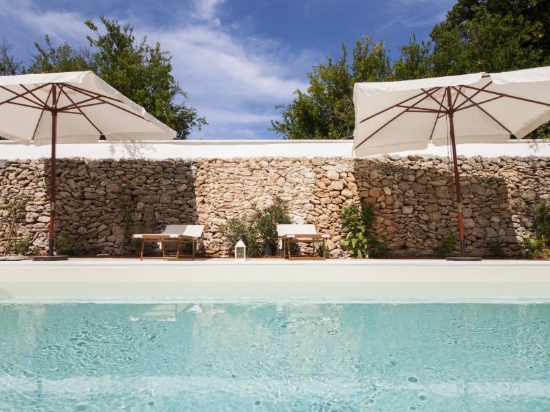 Ferienwohnung Luxury courtyard pool