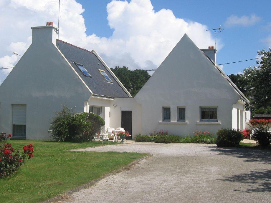 Garten mit den 2 Häusern