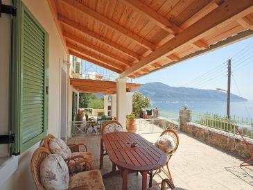 Ferienhaus Traumhaften Meerblick genießen auf Korfu
