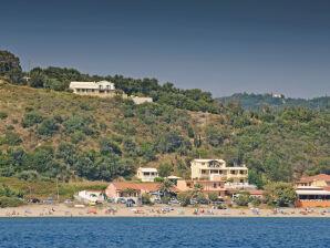 Rundum Meerblick Ferienhaus im Nordwesten Korfus