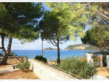 Ferienwohnung Frontaler Meerblick und direkte Strandlage auf Korfu