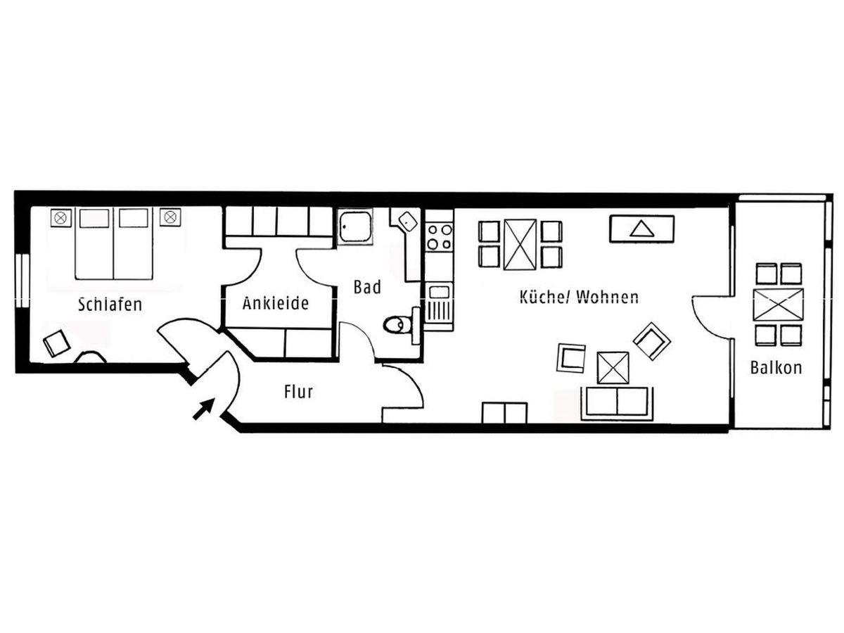 ferienwohnung d nenpark app 30 222 insel r gen herr thomas v lpel. Black Bedroom Furniture Sets. Home Design Ideas