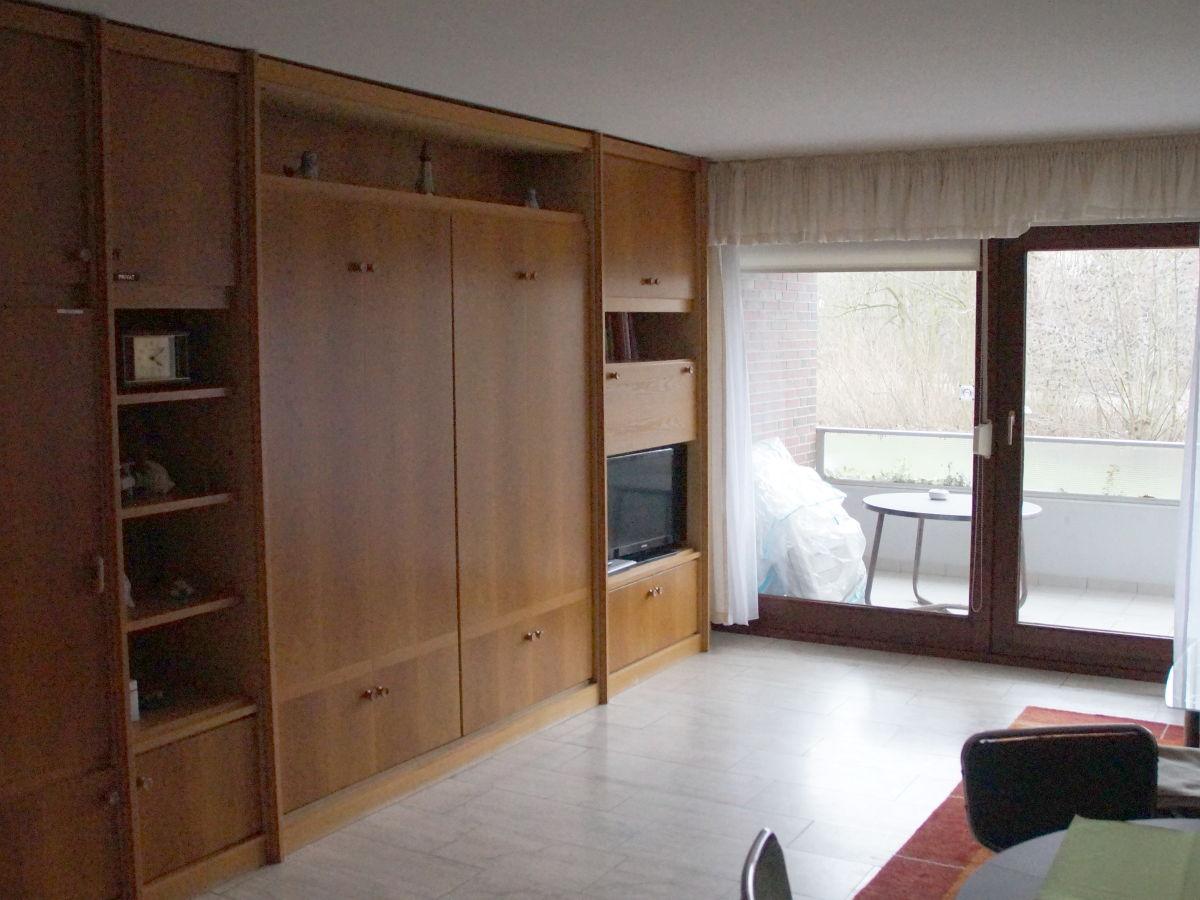 Apartment albatros 1 tossens frau sabine wilcke for Wohnzimmer schrankwand
