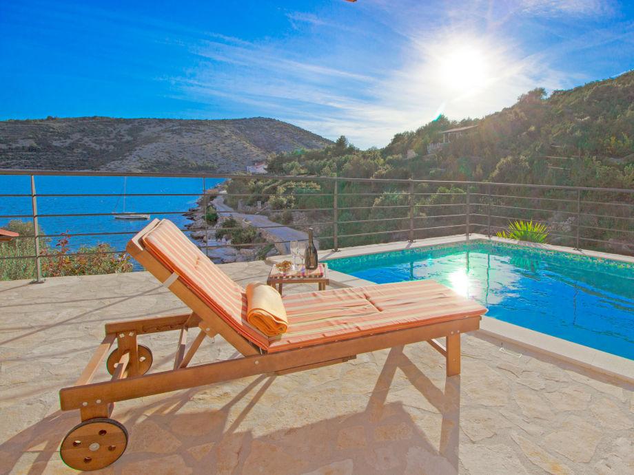Pool terrace - Villa Angelina