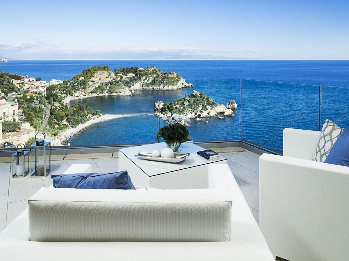 Taormina Ferienwohnung ferienwohnung isola suite sizilien taormina firma