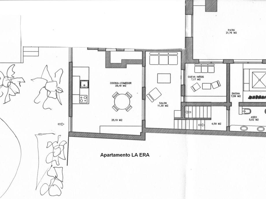 Plan Of The House La Era