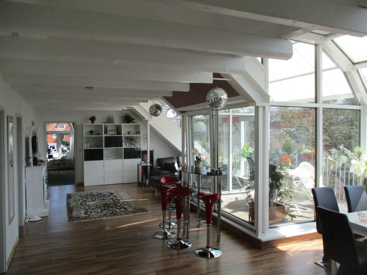 ferienwohnung 5 sterne penthouse wohnung bad pyrmont weserbergland frau hannelore rappmund. Black Bedroom Furniture Sets. Home Design Ideas