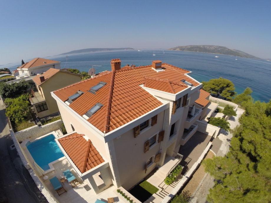 Außenaufnahme Villa Mustra