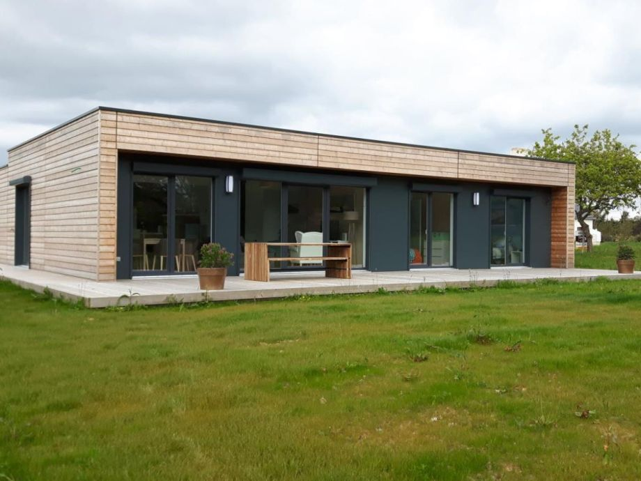 Timber holiday house