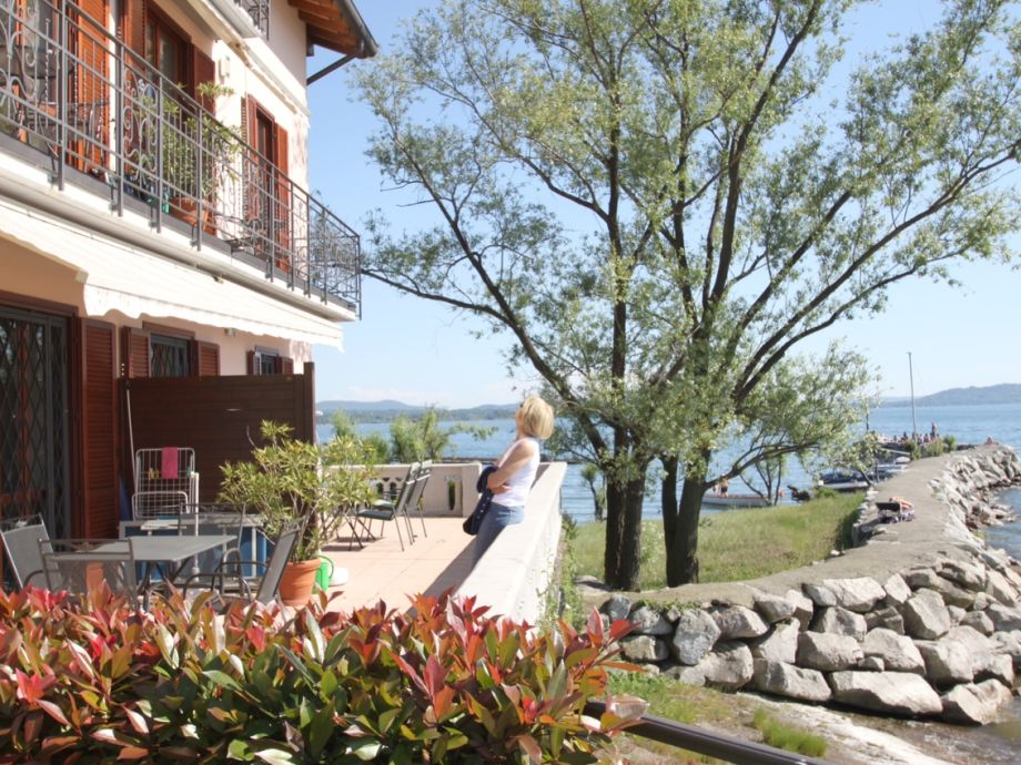 Außenaufnahme in Villa Ottolini 1