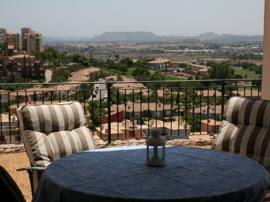 Balkon mit fantastischem Ausblick