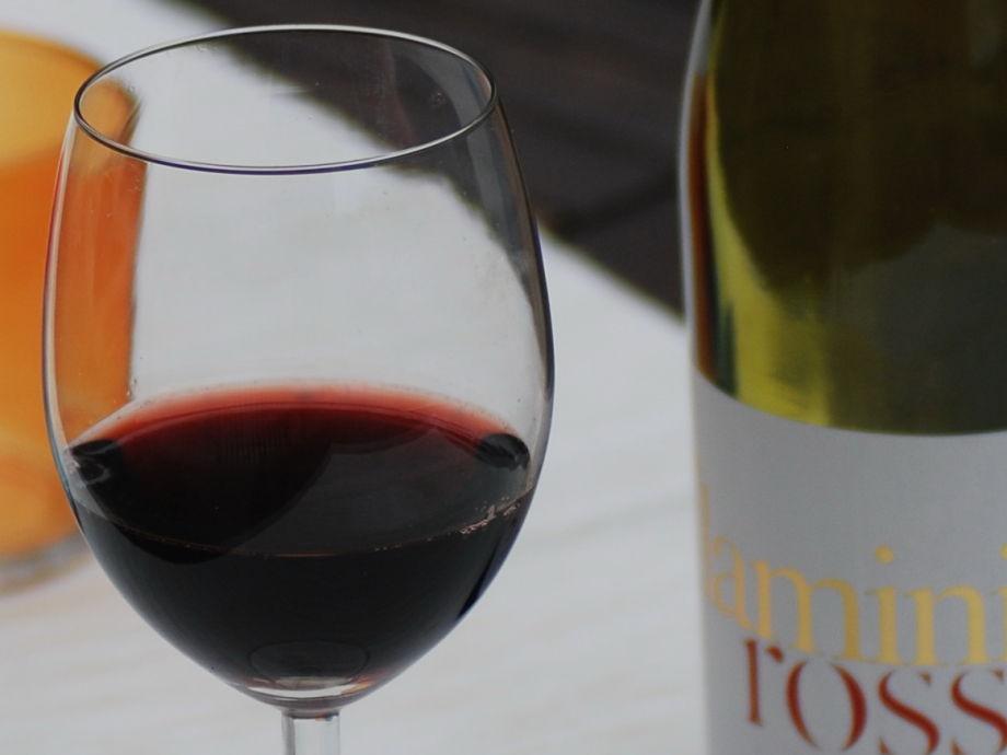 Ein Glässchen Rotwein kann nicht schaden...