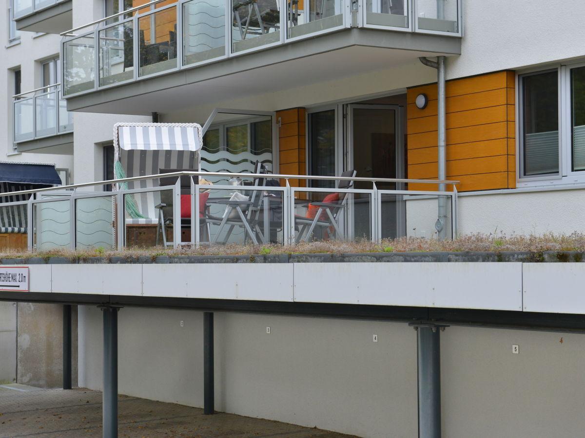 Ferienwohnung seestern ostsee r gen firma femaris gmbh for Balkon carport