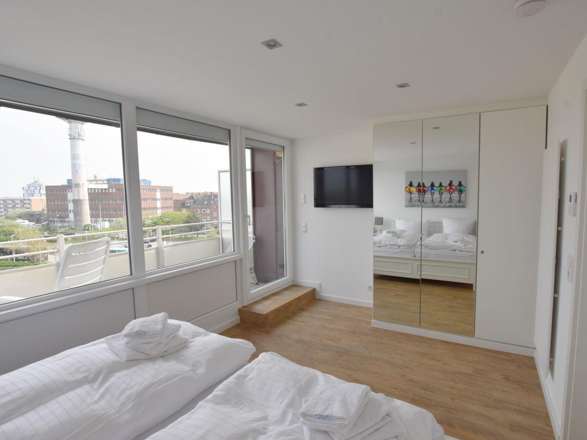 ferienwohnung penthouse s3 haus germania westerland. Black Bedroom Furniture Sets. Home Design Ideas