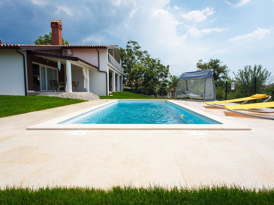 Außenaufnahme Villa Parenzana